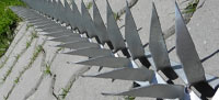 Concertina Wall Spikes